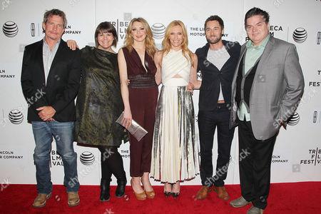 Thomas Haden Church, Megan Griffiths (director), Nina Arianda, Toni Collette, Ryan Eggold and Oliver Platt