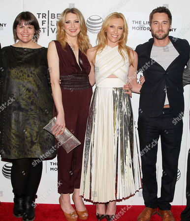 Editorial picture of 'Lucky Them' film premiere at the Tribeca Film Festival, New York, America - 21 Apr 2014