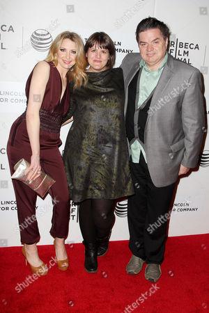 Nina Arianda, Megan Griffiths (director) and Oliver Platt