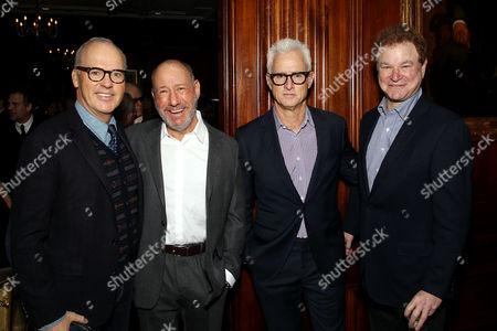 Michael Keaton, Steve Golin, John Slattery, Robert Wuhl