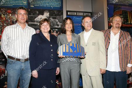 Scott Pascucci, Ann Veneman (UNICEF), Olivia Harrison, Jay Marciano and Ken Dashow