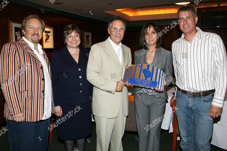 Ken Dashow, Ann Veneman (UNICEF), Jay Marciano, Olivia Harrison and Scott Pascucci