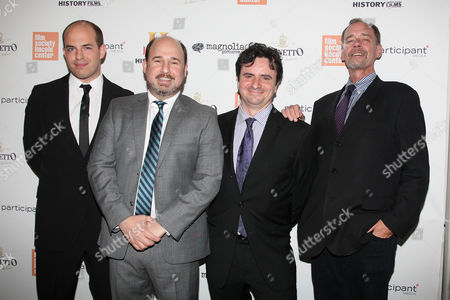 Brian Stelter, Andrew Rossi (Director), Bruce Headlam and David Carr