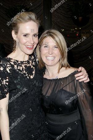 Sarah Paulson and Nicolle Wallace