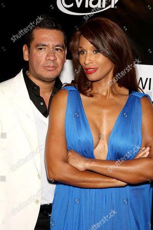 Sean Patterson (president Wilhelmina) and Beverly Johnson