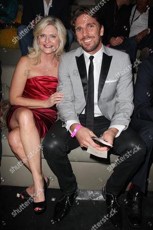 Sharen Turney (Victoria's Secret CEO) and Henrik Lundqvist