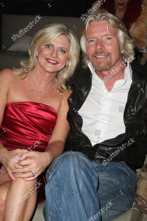 Sharen Turney (Victoria's Secret CEO) and Richard Branson