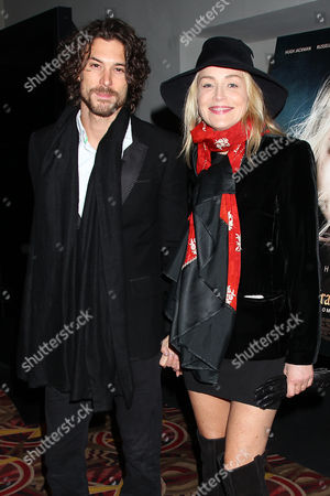 Stock Image of Martin Mica and Sharon Stone