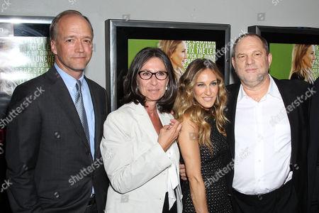 Douglas McGrath, Donna Gigliotti (Producer) and Sarah Jessica Parker