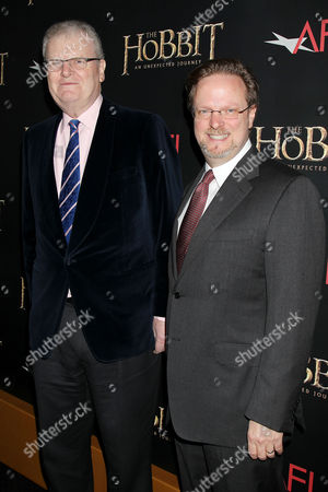 Stock Picture of Sir Howard Stringer and Bob Guzzale