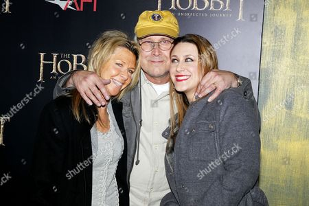 Chevy Chase, Jayni Chase and daughter