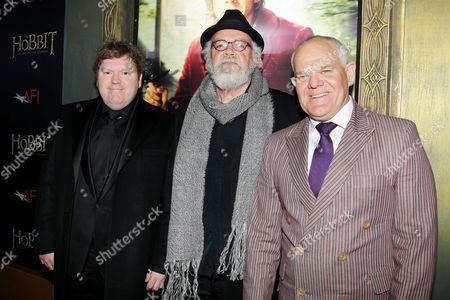 Stephen Hunter, John Callen and Mark Hadlow