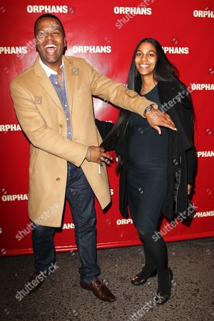 Editorial image of 'Orphans' play opening night on Broadway, New York, America - 18 Apr 2013