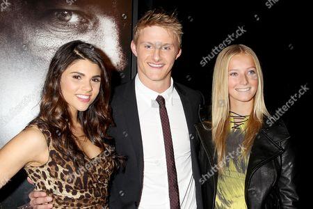 Nicole Pedra, Alexander Ludwig and sister Natalie Ludwig