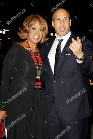Gayle King and Cory A. Booker