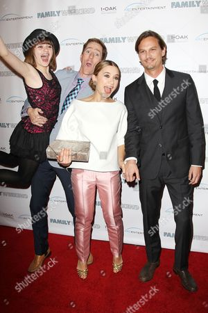 Joey King, Benjamin Epps, Olesya Rulin and Andrew Gray McDonnell
