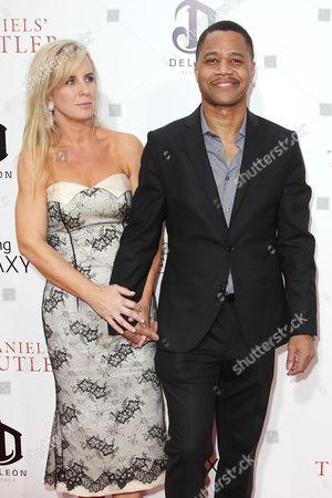 Cuba Gooding Jr with wife Sara Kapfer