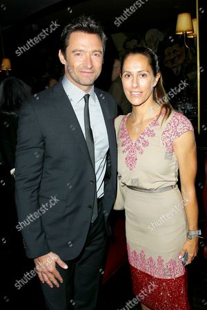 Hugh Jackman and Cristina Greeven Cuomo