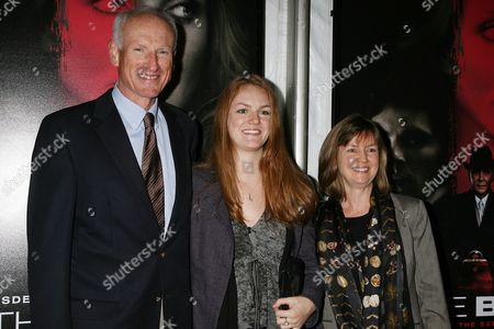 James Rebhorn and family