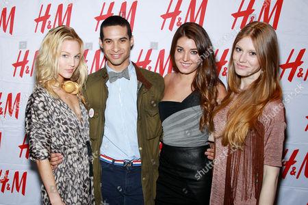 Ashley Anderson, Paul Johnson-Calderon, Samantha Swetra and Audra Callo