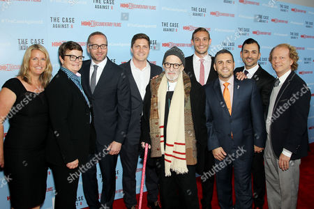 Sandy Stier, Kris Perry, Chad Griffin, Ben Conter, Larry Kramer, Ryan White, Jeff Zarrillo, Paul Katami, Bruce Cohen