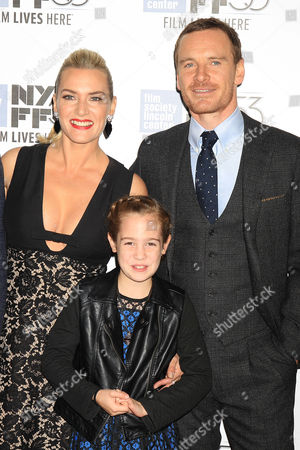 Kate Winslet, Ripley Sobo and Michael Fassbender