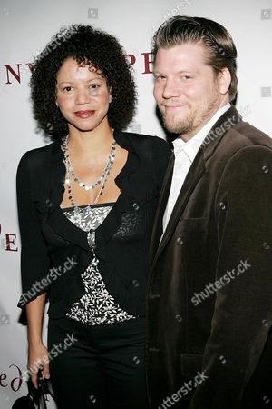 Gloria Ruben with husband Wayne Isaak