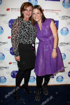 Zoe Bartels (Marketing Director for Ed Hardy) and Gina Sanders (VP of Publishing of Lucky)