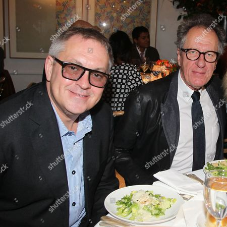 Brian Percival and Geoffrey Rush