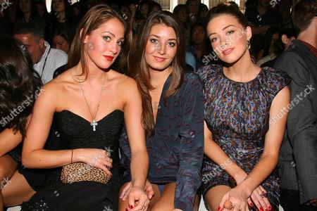 Roxy Olin, Samantha Swetra and Amber Heard