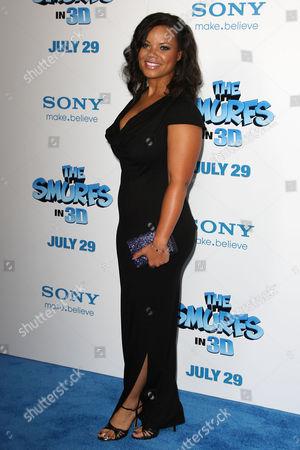 Editorial photo of 'The Smurfs' film premiere, New York, America - 24 Jul 2011