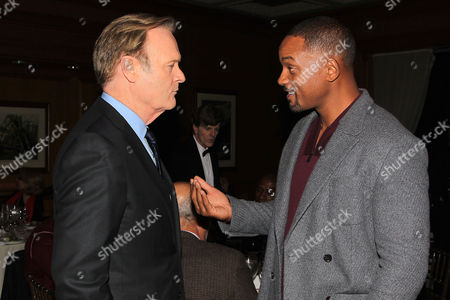 Lawrence O' Donnell and Will Smith