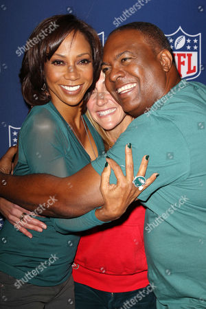 Holly Robinson Peete, Summer Sanders and Rodney Peete