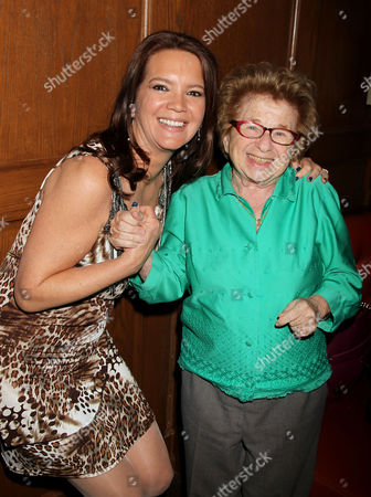 Peggy Gelfond and Dr. Dr. Ruth