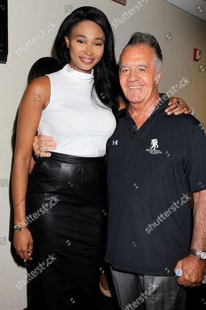 Nana Meriwether and Tony Sirico