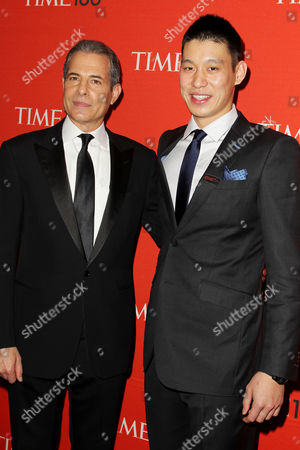 Richard Stengel and Jeremy Lin