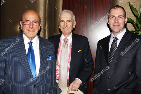 Stock Image of Clive Davis, Gay Talese and Hank Brennan