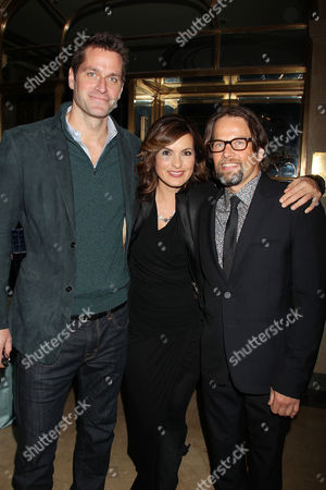 Mariska Hargitay and husband and James LeGros