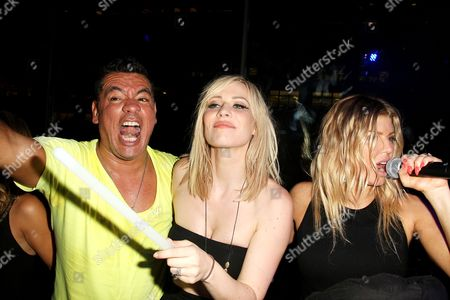 Sean Patterson, Natasha Bedingfield and Stacy 'Fergie' Ferguson