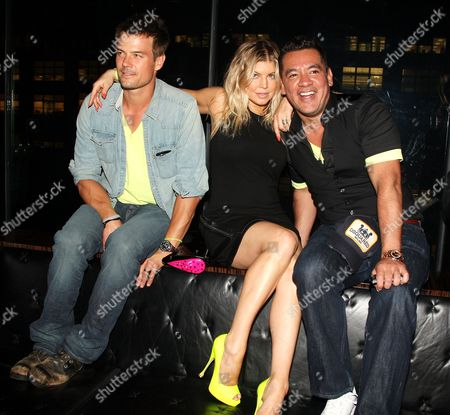 Josh Duhamel, Stacy Ferguson and Sean Patterson