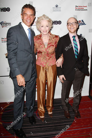 Brian Stokes Mitchell, Holland Taylor and Benjamin Endsley Klein