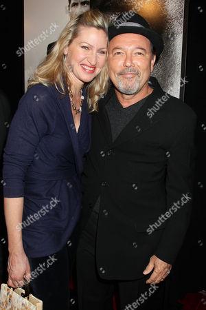 Ruben Blades with Luba Mason (wife)