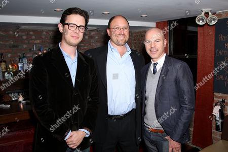 Colin Hanks, Cary Granat (Co-CEO FoxWalden), Steven Shareshian (Producer)