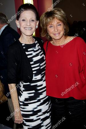 Annette de la Renta and Daniele Thompson (writer,director)