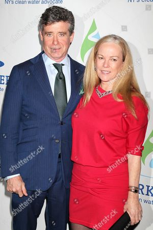 Stock Photo of Jay McInerney and Anne Hearst McInerney