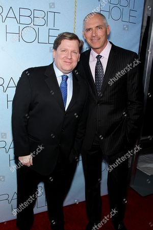 David Lindsay-Abaire (Screenwriter) and Joe Drake (CEO LionsGate)