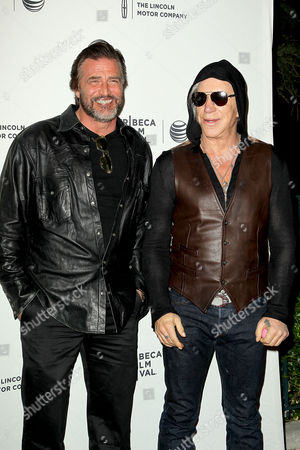 Stock Image of John Enos and Mickey Rourke