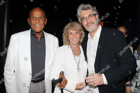 Harry Belafonte, Pamela Frank and Michael Rossato-Bennett (Filmmaker)