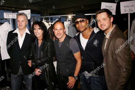 Tim Robbins, Alice Cooper, John Varvatos, LL Cool J and Damien Fahey