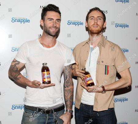 Maroon 5 - Adam Levine and Jesse Carmichael